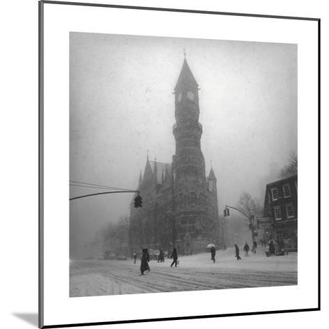 Greenwich Village, New York City-Henri Silberman-Mounted Photographic Print