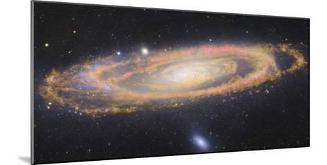 Infrared Image Of The Andromeda Galaxy--Mounted Photographic Print