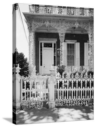 Entrance to the Richards-D.A.R. House-GE Kidder Smith-Stretched Canvas Print