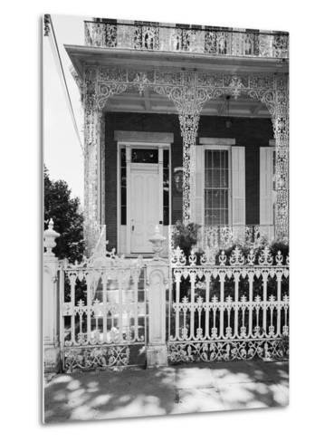 Entrance to the Richards-D.A.R. House-GE Kidder Smith-Metal Print