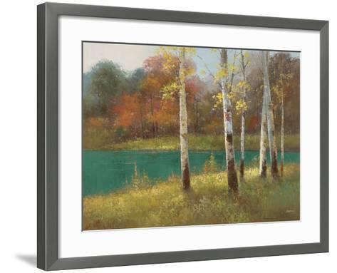 Autumn Birch--Framed Art Print