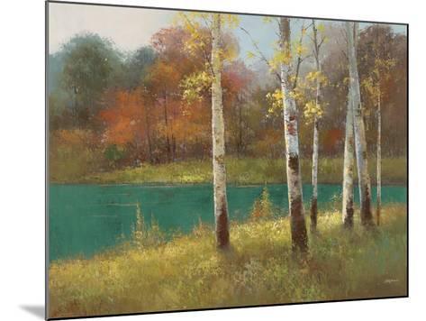 Autumn Birch--Mounted Premium Giclee Print