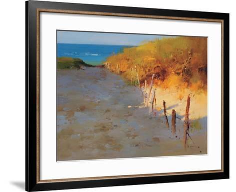 Sunset Beach--Framed Art Print