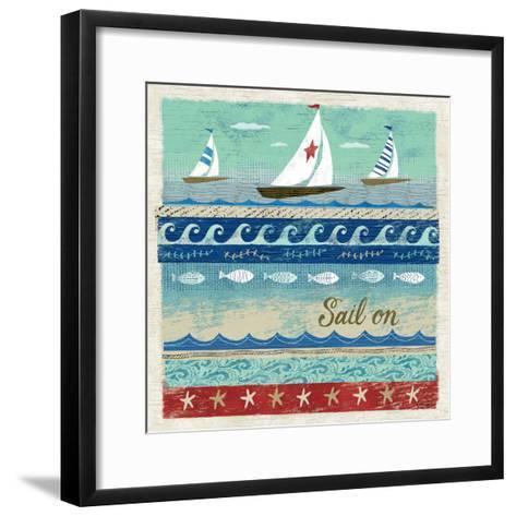 Beach Travel 3-Richard Faust-Framed Art Print