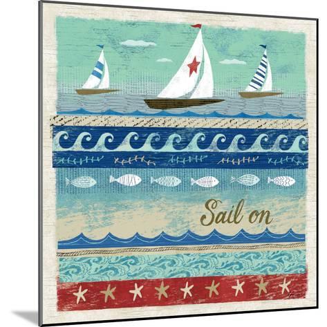 Beach Travel 3-Richard Faust-Mounted Premium Giclee Print