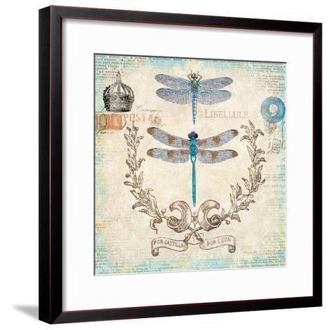 Victorian Dragonflies-Christopher James-Framed Art Print