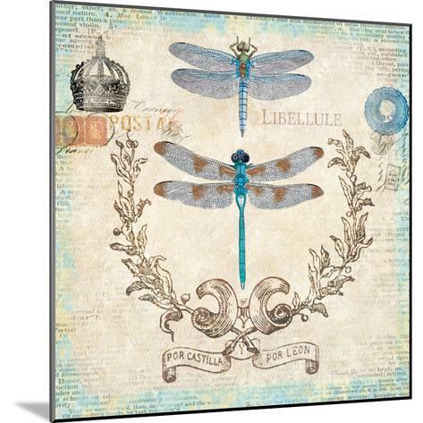 Victorian Dragonflies-Christopher James-Mounted Premium Giclee Print