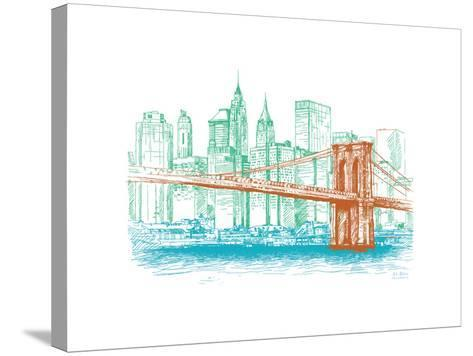 City Print Project--Stretched Canvas Print