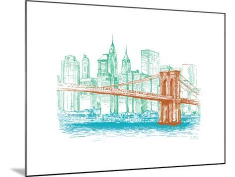 City Print Project--Mounted Premium Giclee Print
