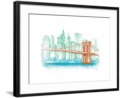 City Print Project--Framed Art Print