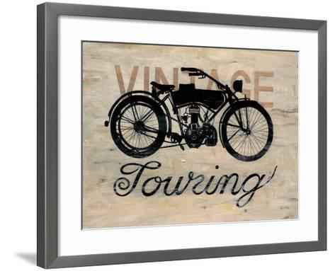 Vintage Touring Bike-Arnie Fisk-Framed Art Print