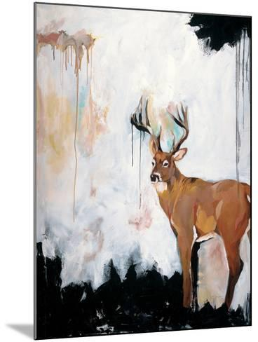 Watercolor Stag-Brooke Tangney-Mounted Premium Giclee Print
