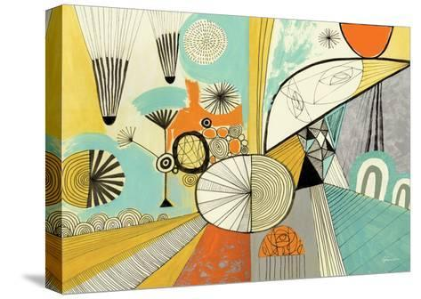Jazzy Stuff-Richard Faust-Stretched Canvas Print