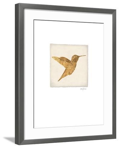 Luxe Hummingbird-Morgan Yamada-Framed Art Print