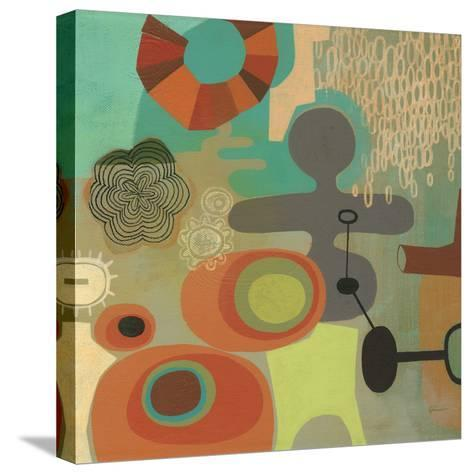 Mid Century Mood 1-Richard Faust-Stretched Canvas Print