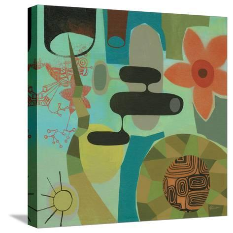 Mid Century Mood 2-Richard Faust-Stretched Canvas Print