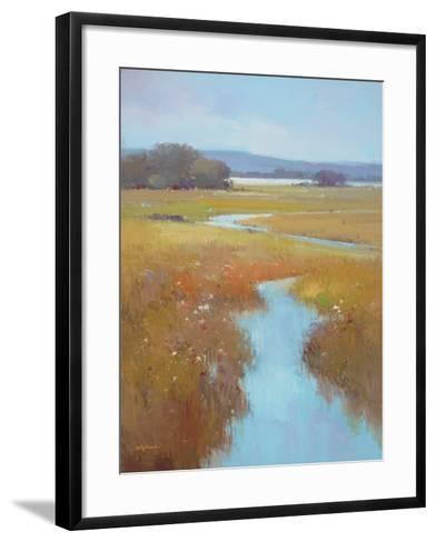 Misty River Bright--Framed Art Print