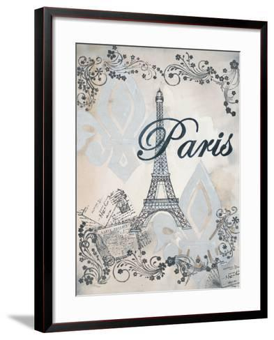 My Paris 1-Tina Epps-Framed Art Print