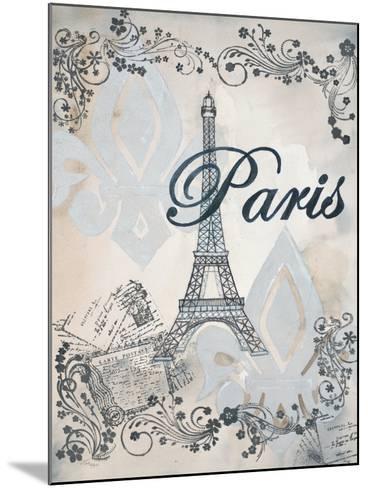 My Paris 1-Tina Epps-Mounted Premium Giclee Print