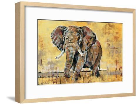 Safari Elephant-Madelaine Morris-Framed Art Print