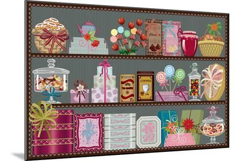 Store of Sweets and Chocolate-Milovelen-Mounted Art Print