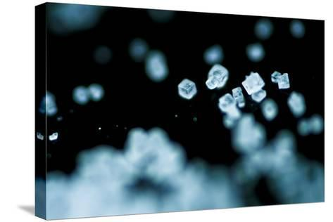 Tiny Salt Crystals-oriontrail2-Stretched Canvas Print