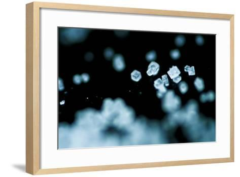 Tiny Salt Crystals-oriontrail2-Framed Art Print