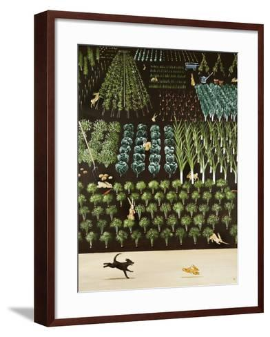 A Trip of Rabbits, 2009-Rebecca Campbell-Framed Art Print