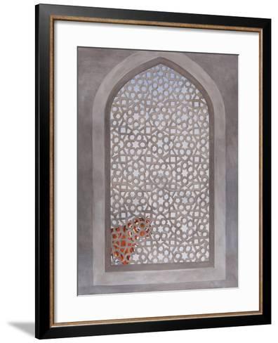The Visitor, 2013-Rebecca Campbell-Framed Art Print