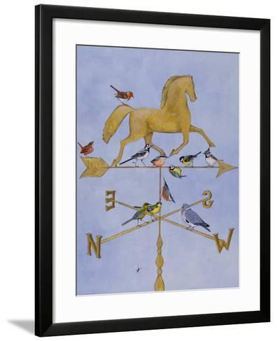 Shooting the Breeze-Rebecca Campbell-Framed Art Print