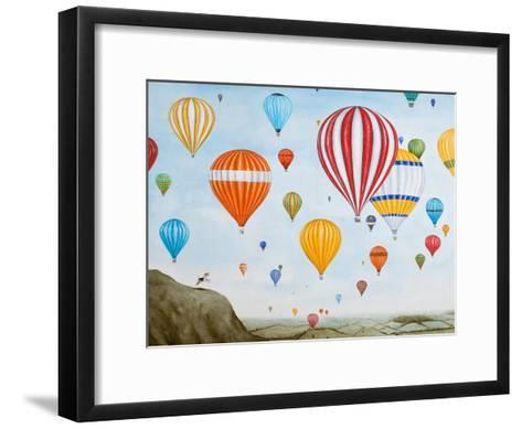 Hot Air Rises, 2012-Rebecca Campbell-Framed Art Print