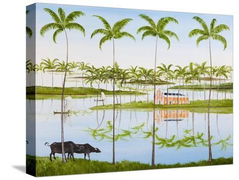 Balmy Backwaters, 2014-Rebecca Campbell-Stretched Canvas Print