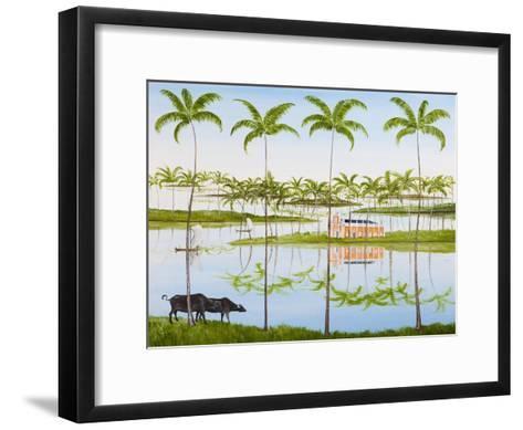 Balmy Backwaters, 2014-Rebecca Campbell-Framed Art Print