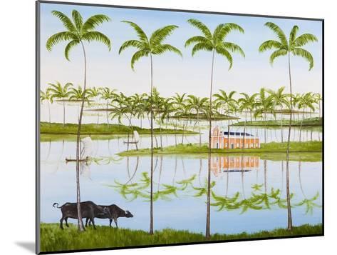 Balmy Backwaters, 2014-Rebecca Campbell-Mounted Giclee Print