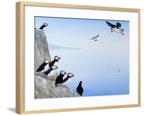 Plain Sailing, 2012-13-Rebecca Campbell-Framed Art Print