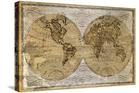 Worldwide I-James Wioens-Stretched Canvas Print