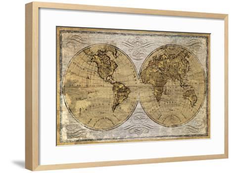 Worldwide I-James Wioens-Framed Art Print