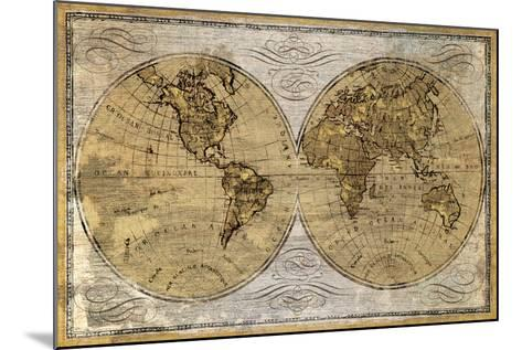 Worldwide I-James Wioens-Mounted Art Print