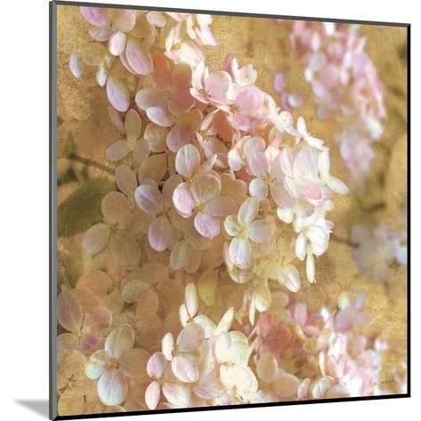 Gilded Hydrangea I-Sue Schlabach-Mounted Art Print