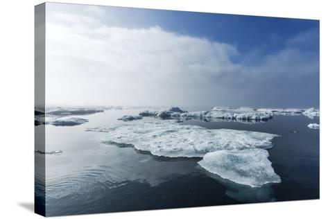 Melting Sea Ice, Repulse Bay, Nunavut Territory, Canada-Paul Souders-Stretched Canvas Print