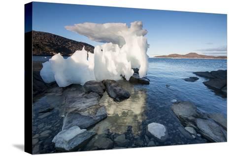 Melting Iceberg, Repulse Bay, Nunavut Territory, Canada-Paul Souders-Stretched Canvas Print