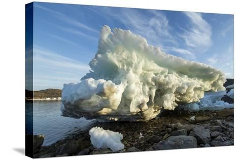 Melting Iceberg, Repulse Bay, Nunavut Territory, Canada-Paul Souders-Stretched Canvas Print