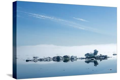 Melting Sea Ice, Hudson Bay, Nunavut Territory, Canada-Paul Souders-Stretched Canvas Print