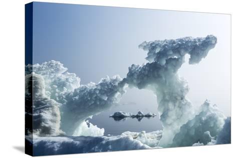 Sea Ice, Nunavut Territory, Canada-Paul Souders-Stretched Canvas Print