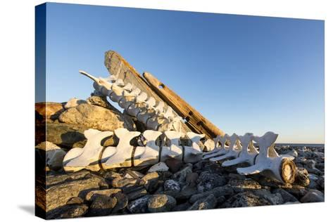 Whalers' Graves, Deadman Island, Nunavut, Canada-Paul Souders-Stretched Canvas Print