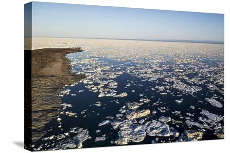 Sea Ice, Hudson Bay, Nunavut, Canada-Paul Souders-Stretched Canvas Print