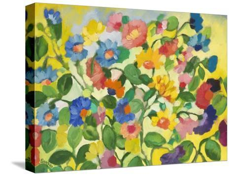 Violets-Kim Parker-Stretched Canvas Print