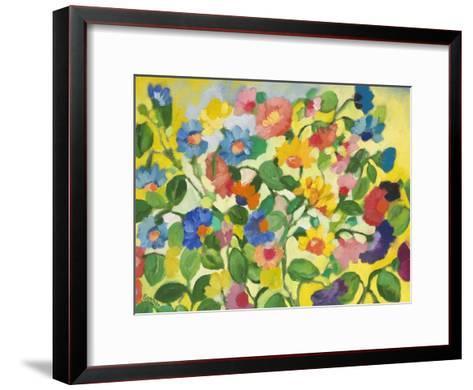 Violets-Kim Parker-Framed Art Print