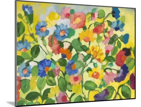 Violets-Kim Parker-Mounted Giclee Print