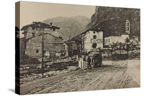 Visions of War 1915-1918: Military Encampments Cismon Del Grappa-Vincenzo Aragozzini-Stretched Canvas Print